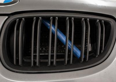 BMW Nieren Streben Blau